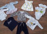 Markenkleidung Mädchen Bekleidungspaket, Gr.68, wie neu