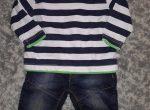 tolle Kombi aus Sirt und Jeans