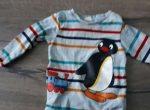 Langarmbody Pinguin